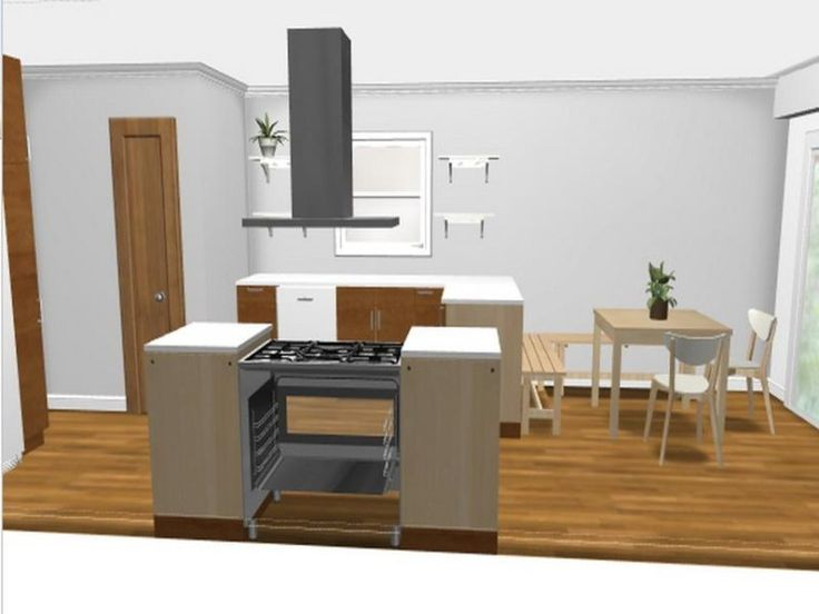 Are you up orienting a new kitchen or virtual kitchen for Ikea cuisine 3d mac