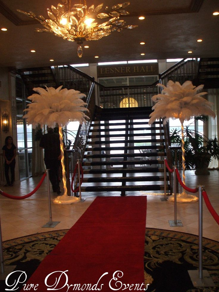 hollywood theme- entry way