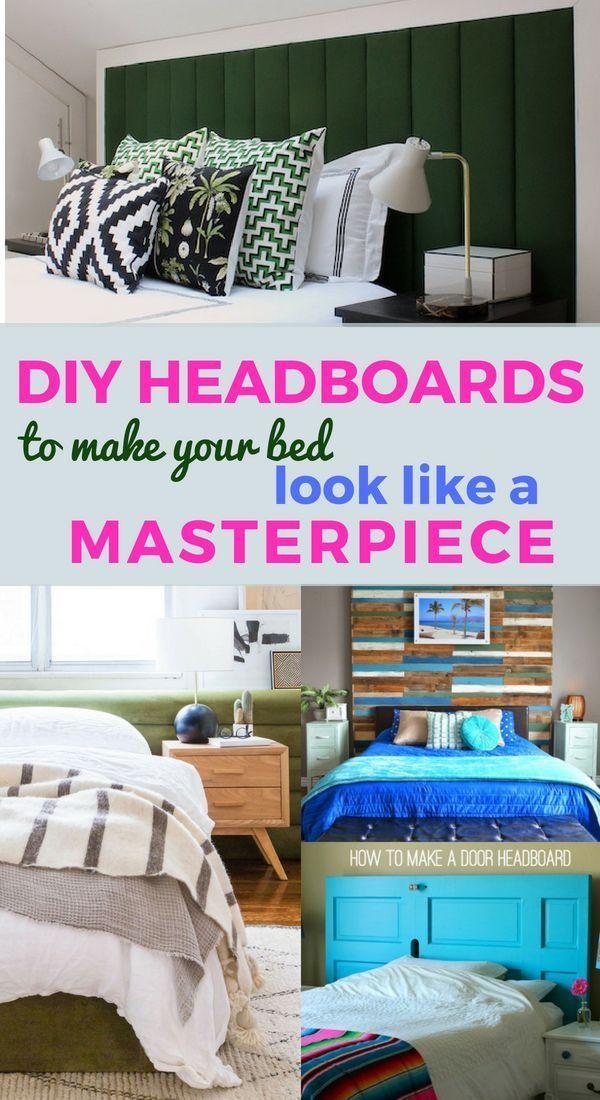 Diy Cheap But Glamorous Headboard Ideas Cheap Diy Headboard Diy