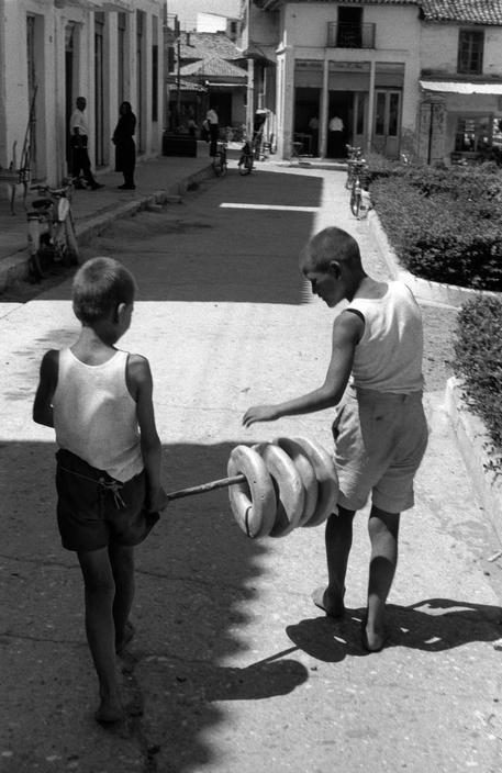 Baker Boys - Kalamata. Peloponnese. GREECE. 1961.