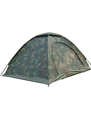 Menschwear Tent Waterproof Portable Pack for Hiking and Camping shelters with ANTI-UV Coating for 2-3 person