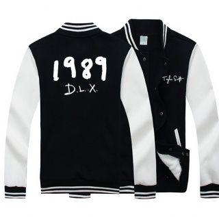 Taylor Swift baseball jacket for swiftie 1989 DLX fleece sweatshirt plus size