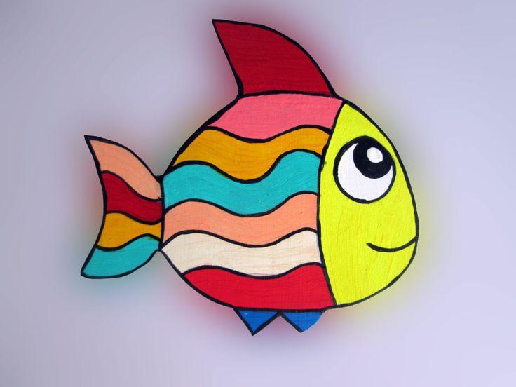 Imãs de geladeira - Peixes 037 / Magnets - Fishes 037