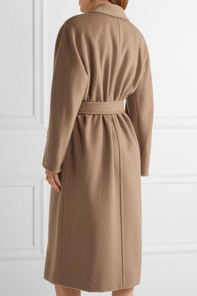 Max Mara - Madame Oversized Wool And Cashmere-blend Coat - Camel - UK10