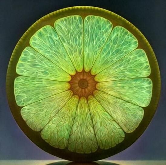 """Stained Glass Lime ...  """"Light up your life with love in vibrant color!"""" -- Peeksi.com"""