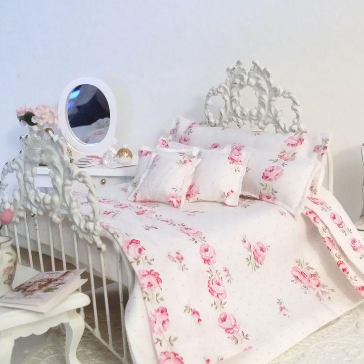 25 beste idee n over beddengoed sets op pinterest blauw beddengoed appartement slaapkamer - Shabby chique kamer ...