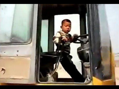 Anak Kecil Jadi Sopir - Video Anak Kecil Jadi Sopir Di Pertambangan China