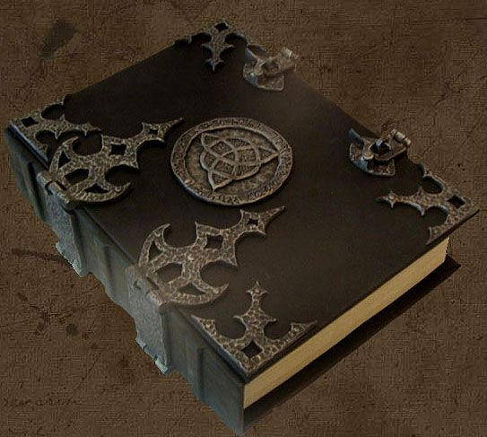 Book of Shadows | Brahm's Bookworks, Grimoire, medieval book - not going to lie, this is gorgeous!