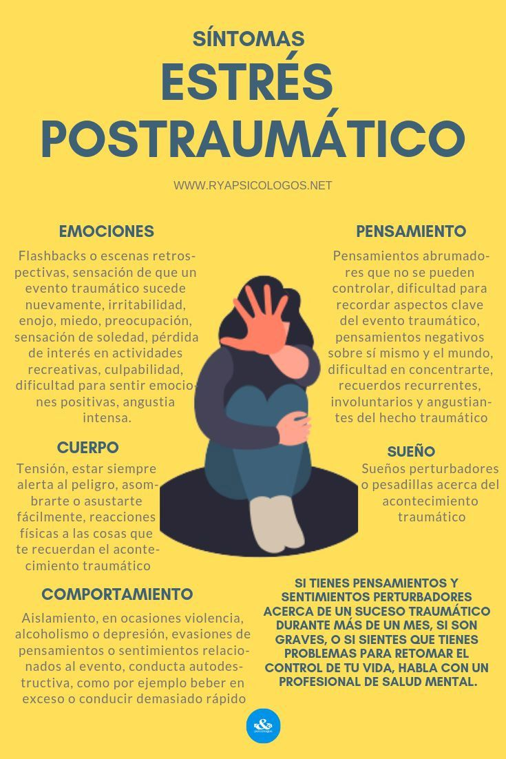 Sintomas De Estres Postraumatico In 2020 Clinical Psychology Psychology Disorders Psychology Studies