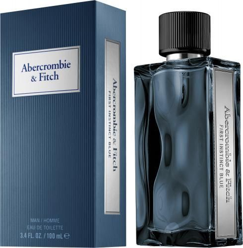 First Instinct Blue For Men By Abercrombie Fitch Edt Spray 3 4