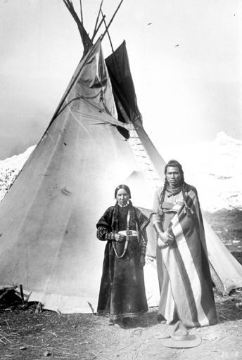 Nez Perce Couple - 1900