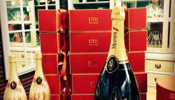 Why blend French champagne with interiors?