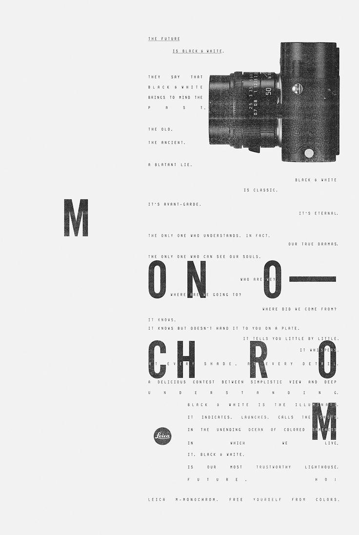 Leica // M-Monochrom - Pedro Prado