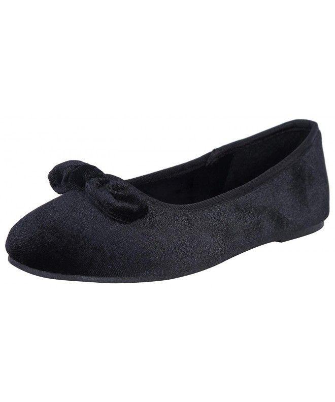 Velvet ballet flat, Girls shoes online
