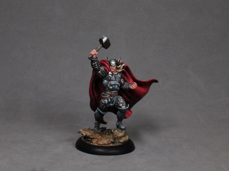 The Mighty Thor painting tutorial by opponenttheory