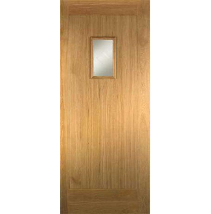 Oak Hillingdon External Door Part L
