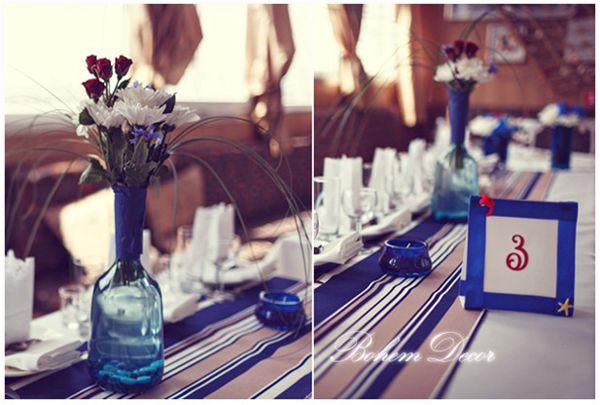 морская тема свадьбы #wedding #nautical #decor