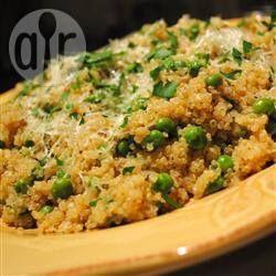 Quinoa met erwten @ allrecipes.nl