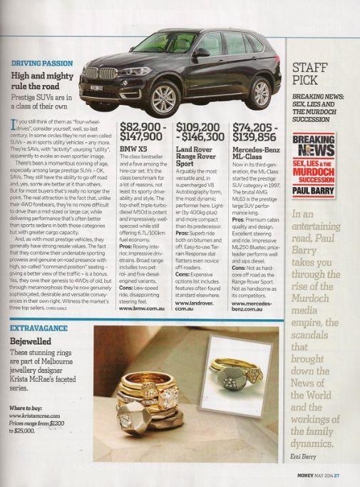 Money- Mag, May 2014 www.kristamcrae.com