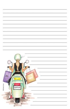 Cute notepad by Brittany Fuson