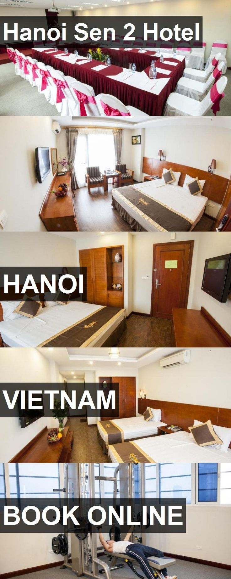 Hanoi Sen 2 Hotel in Hanoi, Vietnam. For more information, photos, reviews and best prices please follow the link. #Vietnam #Hanoi #travel #vacation #hotel
