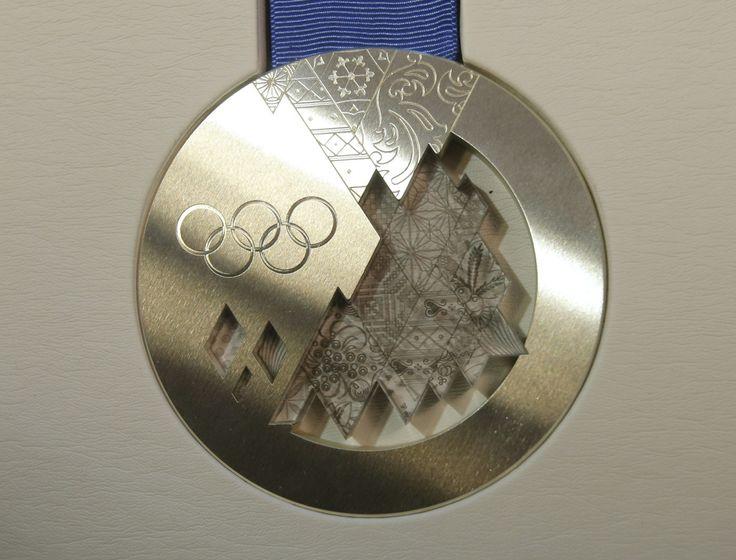 Olympic Games silver medal. Sochi 2014.
