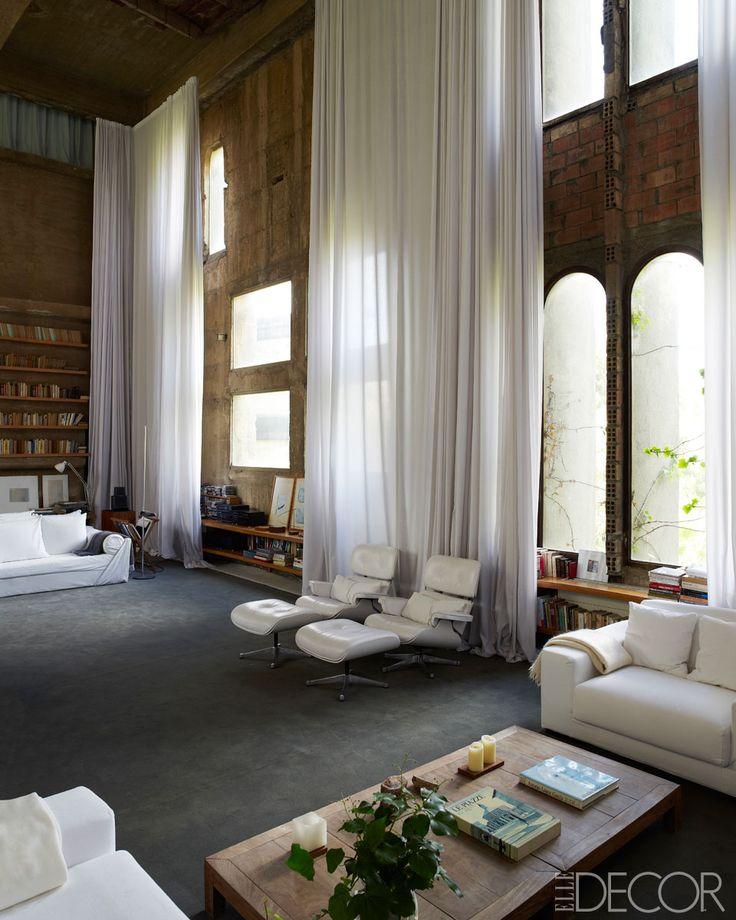 Ricardo Bofill's Cement Factory-Turned-Dream Home Ricardo Bofill #home in #Barcelona