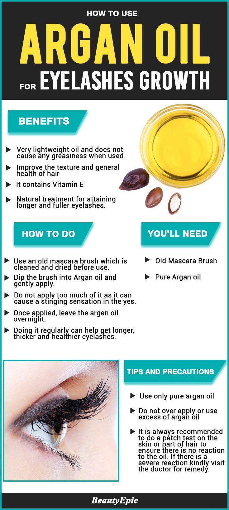 Argan Oil for Eyelashes: Natural Ways to Promote Longer Eyelashes