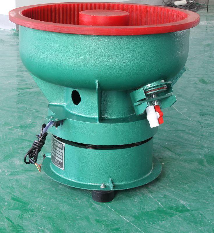 80l vibratory finishing machine small round bowl type