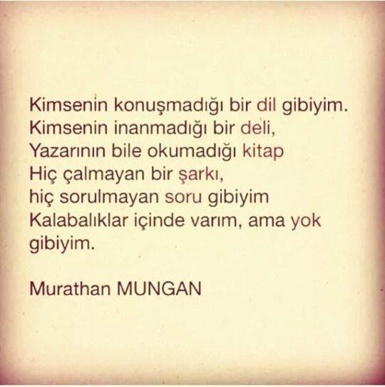 #Murathan Mungan