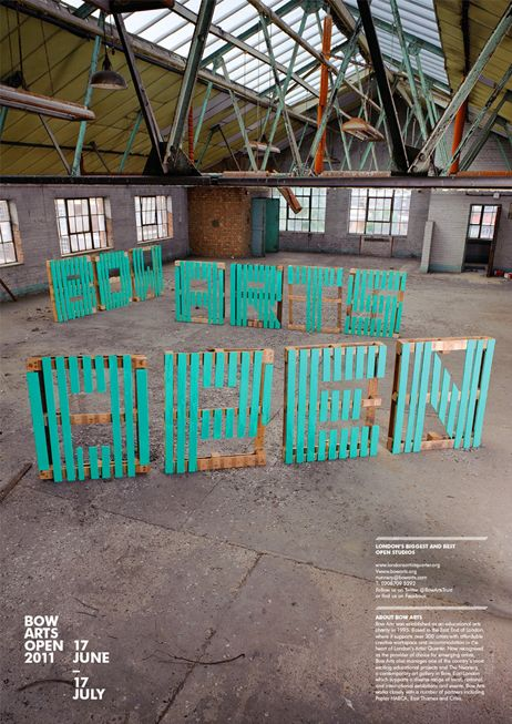 More original than others on how to use pallets and write on them...
