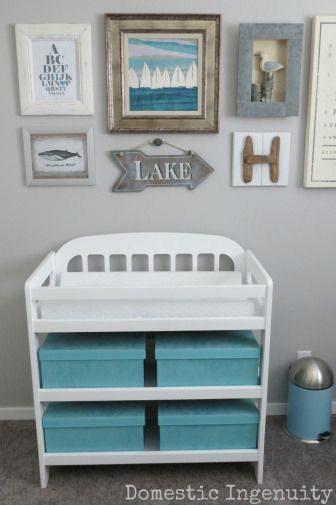 Nautical Nursery Room.