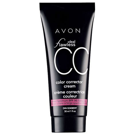 Protect and Correct with Avon's ideal flawless color corrector cream. On sale $9.99  To view my current Avon brochure: Click here:   http://www.avon.ca/shop/en/avon-ca-next/brochure-list?BP=V5vFbOSlApk%3d  https://www.facebook.com/avonformakeup https://www.interavon.ca/elisabetta.marrachiodo