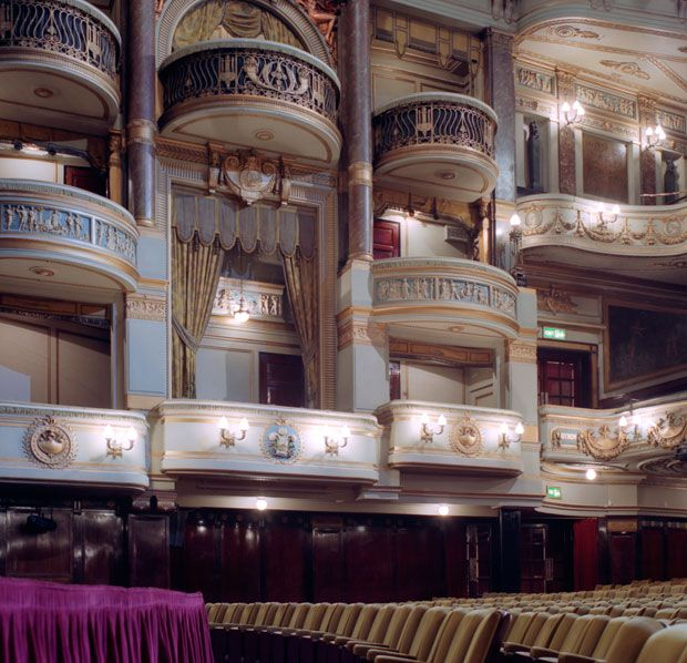 The Lyceum, built in 1771 as 'a place of entertainment', was not originally licensed as a theatre. London, England