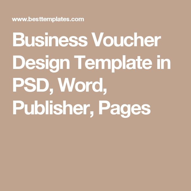 The 25+ best Voucher template word ideas on Pinterest Gift - coupon templates for word