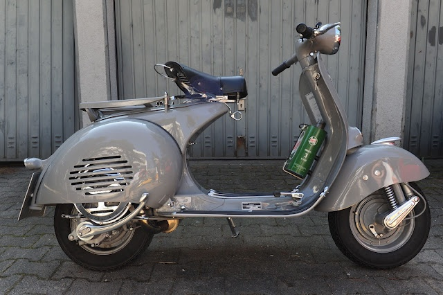 A beautiful example of the design classic Vespa....