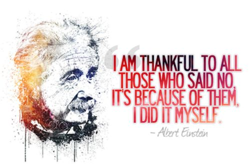 Motivational and Inspirational Quote (Albert Einstein): spotted by #bohemianlush