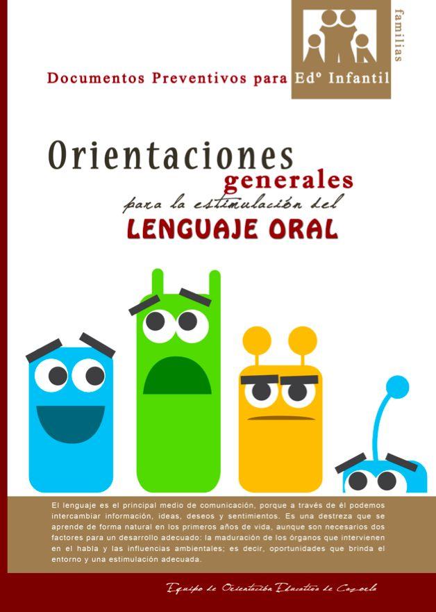 EL BLOG DE L@S MAESTR@S DE AUDICION Y LENGUAJE: ORIENTACIONES GENERALES PARA LA ESTIMULACIÓN DEL L...