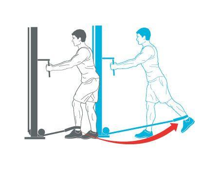 Pour corriger la lordose lombaire et l'antéversion du bassin : étirer les fléchisseurs de la hanche