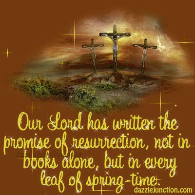 I want to share this Promise Of Resurrection Easter Christian picture from Dazzle Junction with you. Click to view.