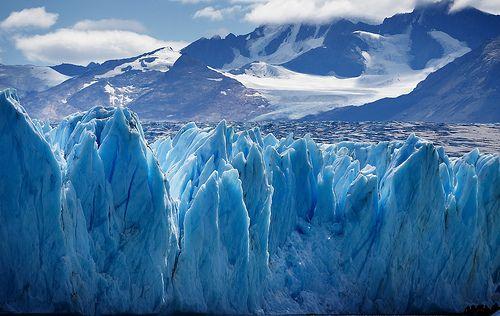 Glaciar Upsala, en Santa Cruz, Argentina