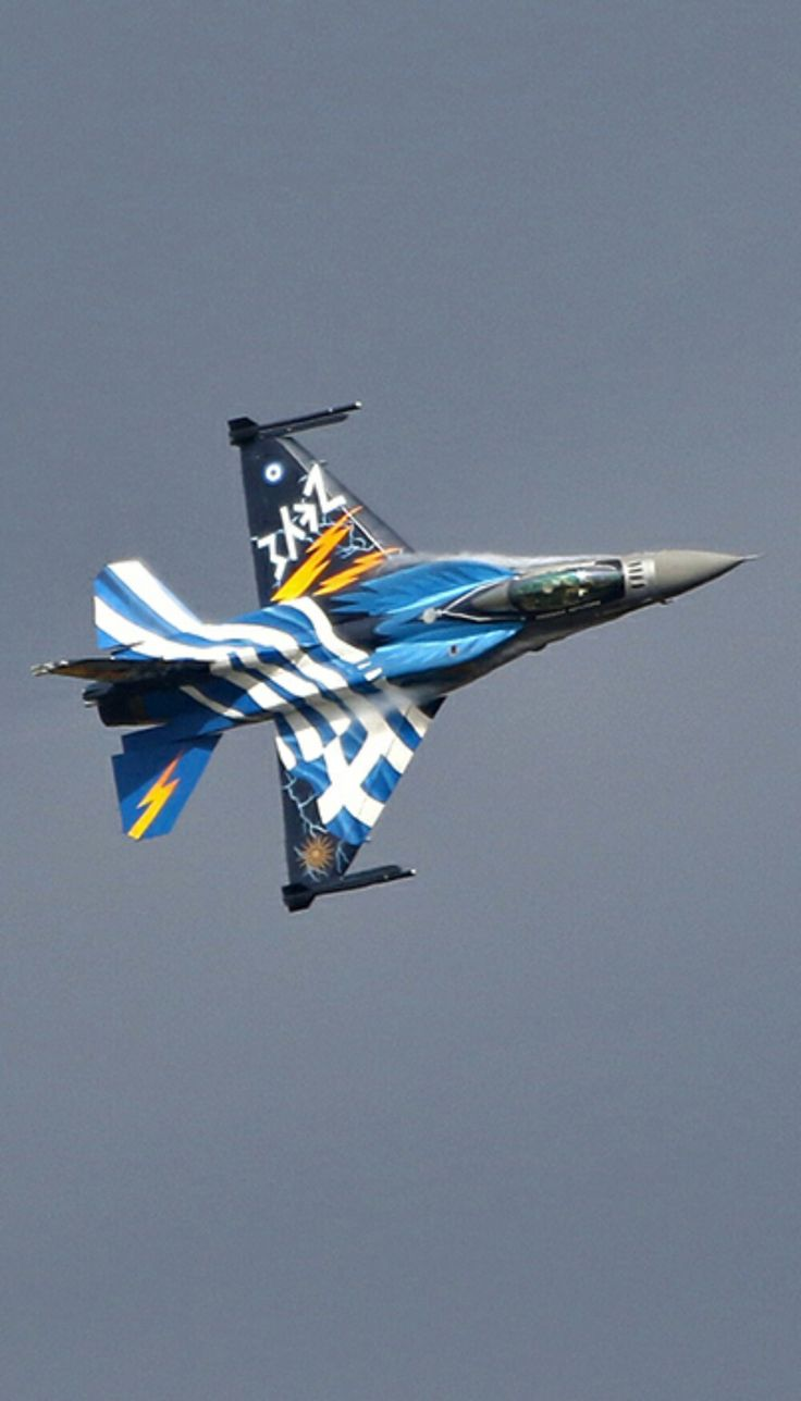 Hellenic Air Force F-16 https://www.fanprint.com/licenses/air-force-falcons?ref=5750