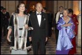 Princesse Caroline De Hanovre Monaco Valery Giscard D'Estaing Anne Aymone Giscard D'Estaing at The18th Nuit Internationale De L'Enfance At Versailles...