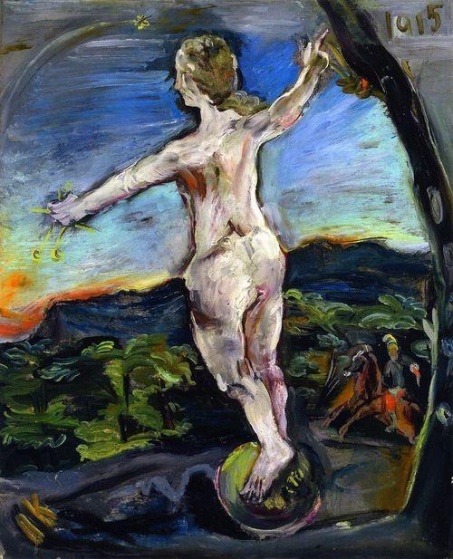 Oskar Kokoschka: Fortuna (1915)