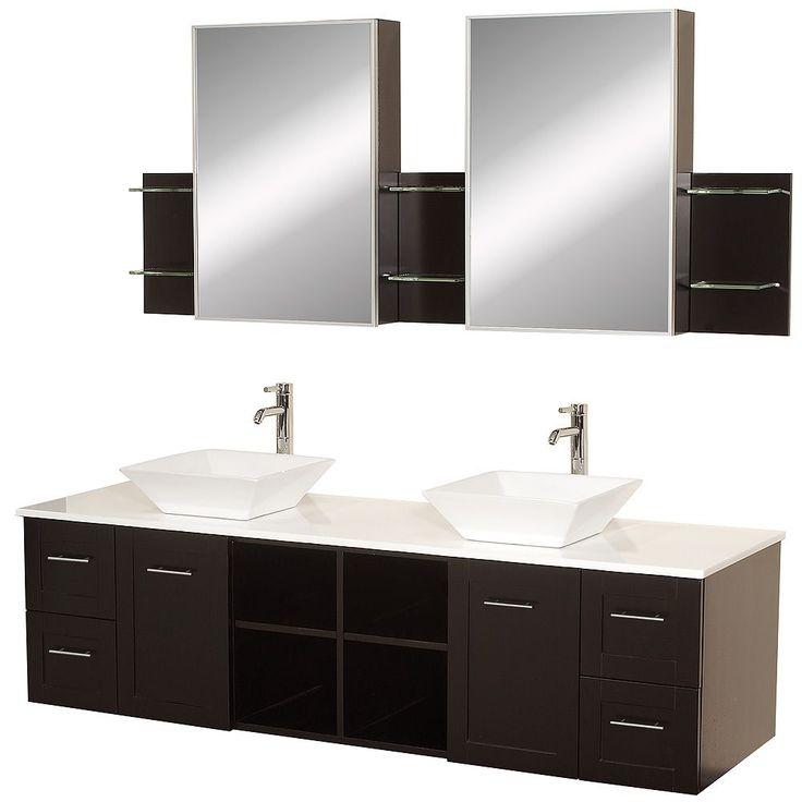 Best 25 72 Inch Bathroom Vanity Ideas On Pinterest  Black Delectable 72 Inch Bathroom Vanity Double Sink Decorating Inspiration