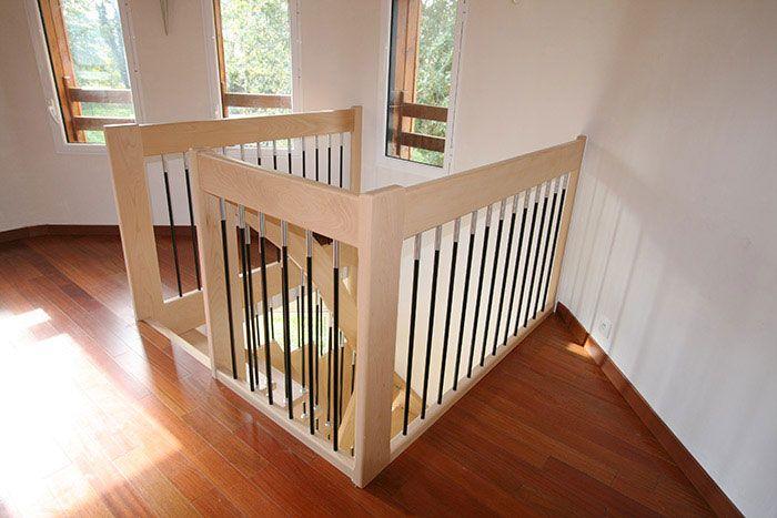 70 best escaliers suspendus images on pinterest wood. Black Bedroom Furniture Sets. Home Design Ideas