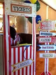circus ticket booth - Google Search