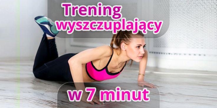 7 minut dziennie wystarczy, by skutecznie spalać tłuszcz i wymodelować swoje ciało. Oto7-minutowy trening wyszczuplający sylwetkę. Wypróbujcie go, a po