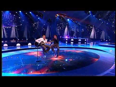 Eurovision 2004 Final 07 Netherlands *Re-Union* *Without You* 16:9 HQ - YouTube