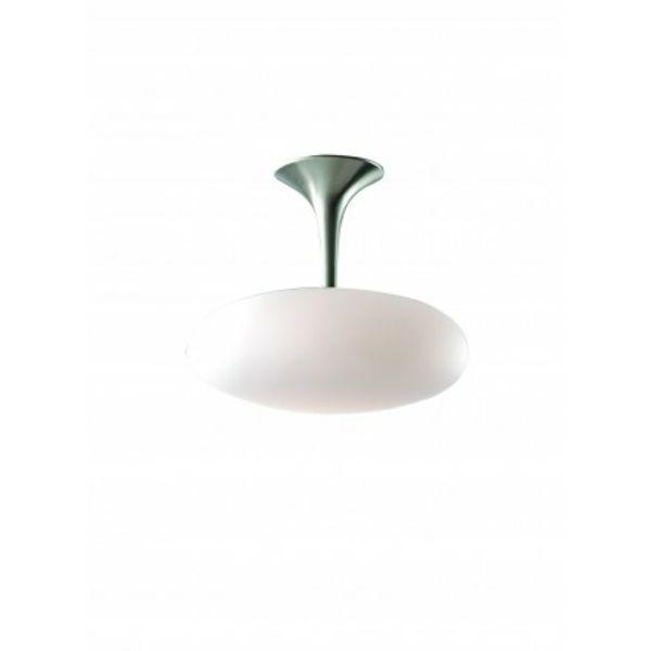 50 modèles- luminaire laurie, synonyme de chic et contamporain design - plafonnier-moon-blanc